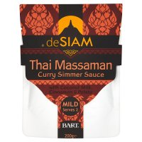 deSIAM Thai massaman curry simmer sauce