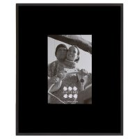 Hampton bevelled glass photo frame 4x6