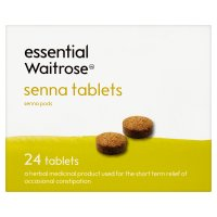 essential Waitrose senna tablets