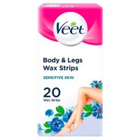 Veet wax strips sensitive skin