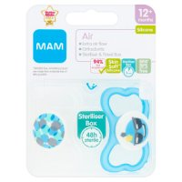 Mam 12month+ air soother, pack of 2, assorted