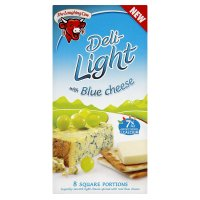 The Laughing Cow deli-light with blue cheese