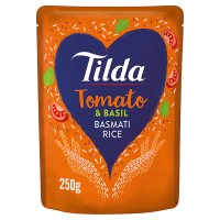 Tilda steamed basmati rice sundried tomato