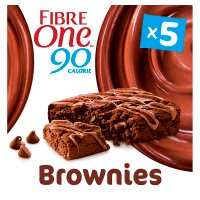 Fibre One 90 Calorie Chocolate Fudge Brownies