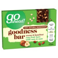Go Ahead! Goodness Bar Cocoa & Hazlenut