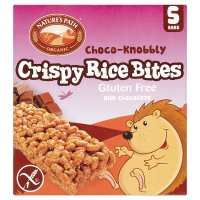 Nature's Path crispy rice bites milk chocolate