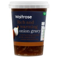 Waitrose onion gravy