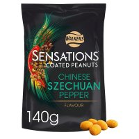 Sensations Szechuan pepper coated peanuts