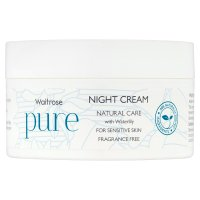 Waitrose Pure Natural Night Cream