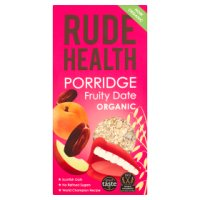 Rude Health organic fruity date porridge