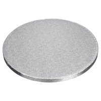 Tala 12 round Silver 12mm Cake Drum