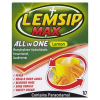 Lemsip Max all in one lemon