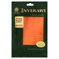Inverawe sliced Scottish smoked salmon