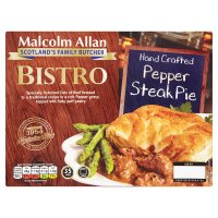 M/Allan Bistro Pepper Steak Pie
