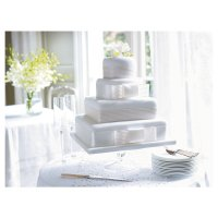Waitrose Ent cake ribbon wedding