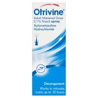 Otrivine adult metered dose 0.1% nose spray