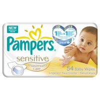 Pampers Sensitive Maxcare Ref 54 Wipes