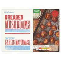 Waitrose Breaded Mushrooms