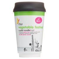 Itsu vegetable festival crystal noodle cup