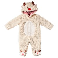 Waitrose CHRISTMAS REINDEER FLEECE AIO 6-