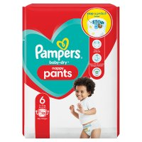 Pampers Baby-Dry Pants Size 6
