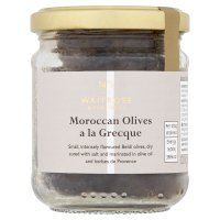 Waitrose Rich Olives Salted à la Grecque