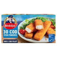 Birds Eye 28 Cod Fish Fingers frozen