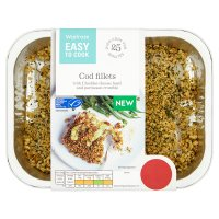 Easy To Cook Cod Fillets with Crumble