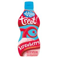 Askeys treat strawberry flavour dessert sauce