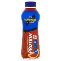 For Goodness Shakes protein chocolate
