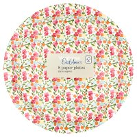 Waitrose Outdoors Ditsy Floral Paper Plates