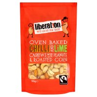 Liberation Fairtrade Chilli & Lime Cashews with Peanuts