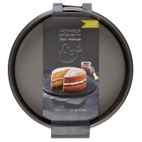 from Waitrose 18cm (7) non-stick loose base deep sandwich tin