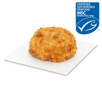 Waitrose MSC handmade line caught haddock & smoked haddock fishcake