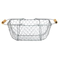 Waitrose Powder Coated Wire Basket
