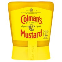 Colman's original English squeezable mustard