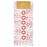 Waitrose Christmas Red Tissue Paper