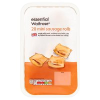 essential Waitrose 20 mini sausage rolls