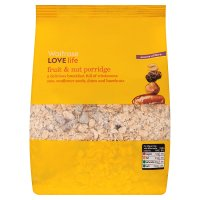 Waitrose LoveLife fruit & nut porridge