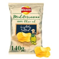 Walkers Mediterranean Lightly Salted