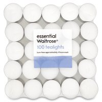 essential Waitrose tealights