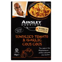 Ainsley Harriott sun-dried tomato & garlic couscous