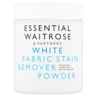 essential Waitrose white fabric stain remover powder
