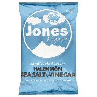 Jones hand cooked crisps sea salt & vinegar