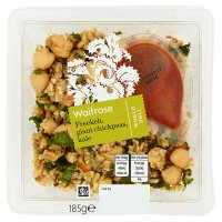Waitrose Freekeh Giant Chickpeas & Kale Salad