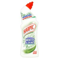 Harpic white & shine toilet cleaner, eucalyptus & mint