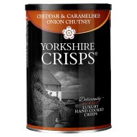 Yorkshire Crisps - cheddar & onion