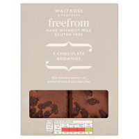 Waitrose LoveLife 4 Chocolate Brownies
