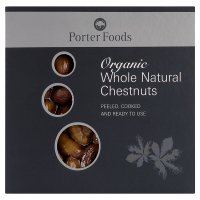 Porter Foods organic whole chestnuts