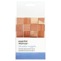 essential Waitrose FSC cedar nuggets, pack of 24